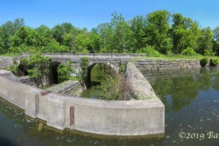 Limestone Creek Aqueduct in Fayetteville