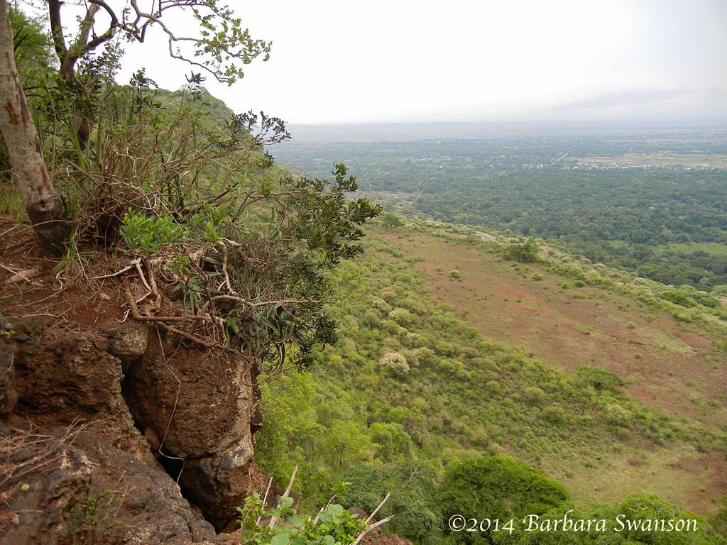 Rift Valley escarpment