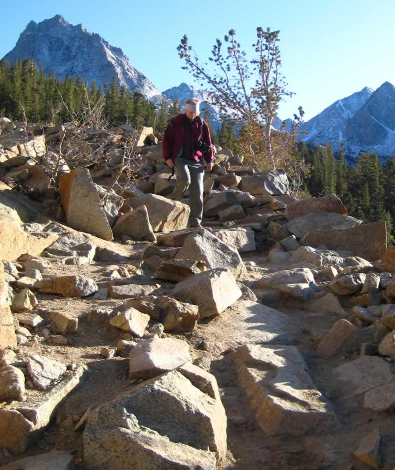 Trail scrambling