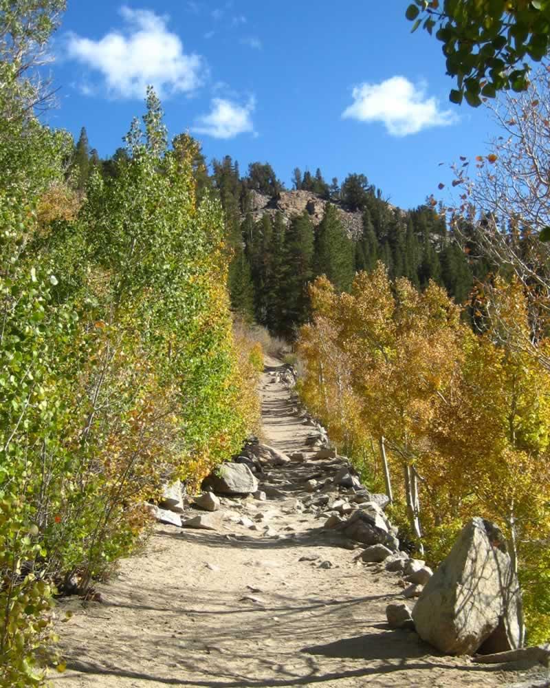 A gradual climb